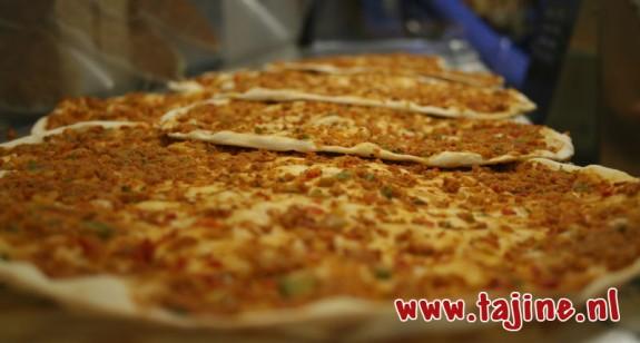 Lahmacun - Turkse pizza