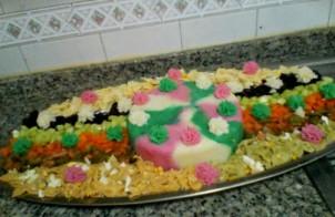 Gekleurde rijstsalade