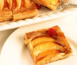 Perzik taart