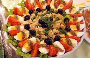 Gezonde tonijn Salade