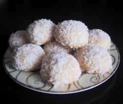 Makkelijke amandelenkoekjes met chocolade en kokos