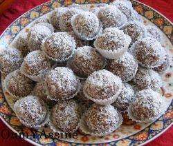 Pindabonbons - Bonbons van chocolade en ongezouten pinda's