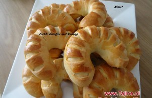 Zachte broodjes met vulling