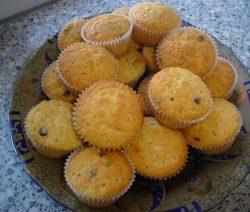 Muffins met chocoladestukjes