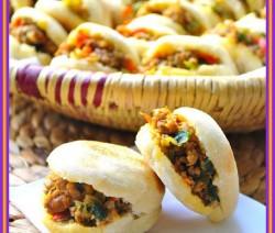 Marokkaanse gevulde minibroodjes