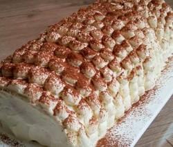 Tiramisu Cake roll