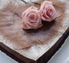 Chocolade truffelhart