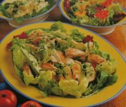 Avocadosalade met kip