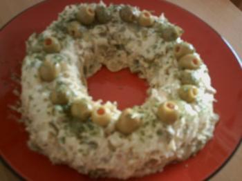 Aardappel -makreelfilet Salade