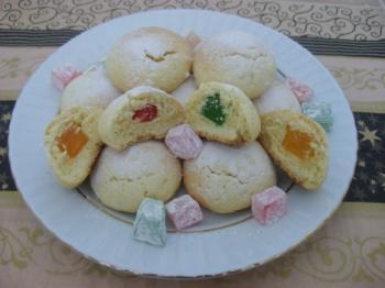 Turkse lokum koekjes!