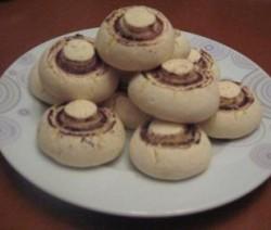 Champignon koekjes