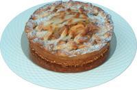 Appel-rozijnen cake