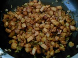 Aardappel hashoe voor je rijst