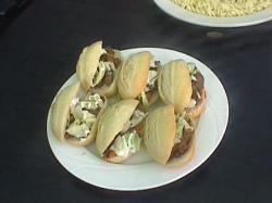 Kleine gehaktbroodjes
