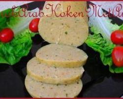 Zelfgemaakte gekookte kippenworst