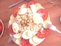 Aardappeltonijnsalade