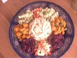 Voorgerecht salade