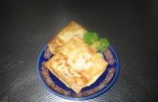 Aardappel-gehakt pasteitje