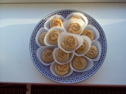 Mini mhensha met gemalen amandelen