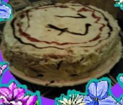 Heerlijke slagroom taart!