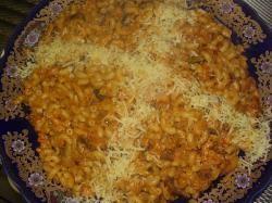 Macaroni met rivierkreeftjes
