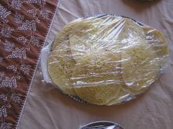 Mini-beghrir Marokkaanse pannenkoek met gaatjes