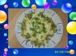 Aardappel salade met eiren