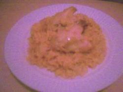 Basmati rijst met kipvleugels