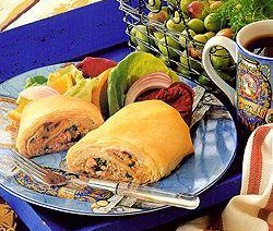 Marokkaans filotaartje (tonijn en ei)