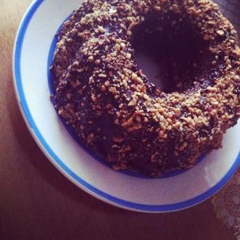 Chocolade tulband cake
