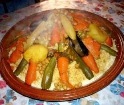 Coucous met 7 groenten