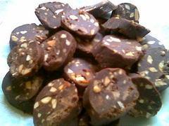 Chocoladefekkas(chocoladekoekjes zonder bakken)