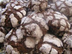 Chocolade-Pecanoten koekjes