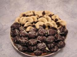 Chocolade-caramel koekjes