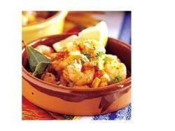 Gamba's al ajillo - Garnalen met knoflook