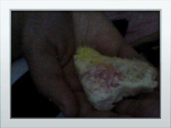 Gekleurde coco's koekjes.