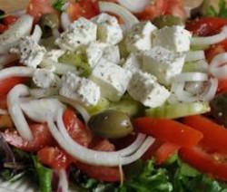 Grieks slaatje met fetakaas