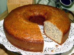 Limonli hashasli kek (lemon poppy seed cake)