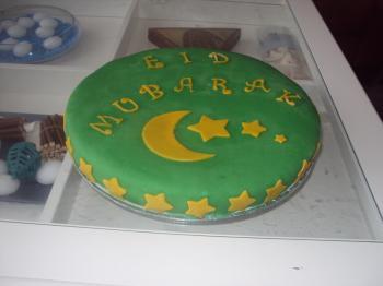 Eid el Fitr taart