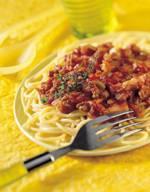 Italiaanse pastasaus met gehakt