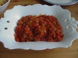 Lamsvlees met tomaten