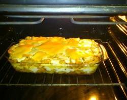 Macaroni met bechamelsaus