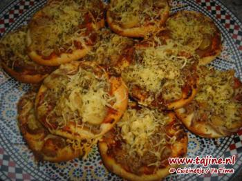 Mini-pizzaatjes