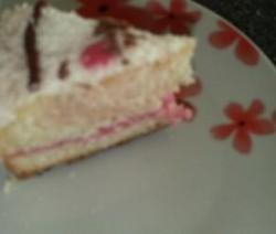 Verjaardags kokos cake