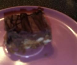 Pindakaas chocolade blokjes