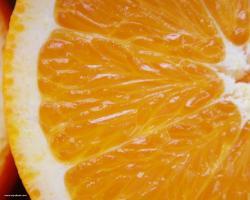Sinaasappel schijven