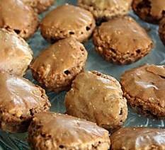 Chocolade amandel koekjes