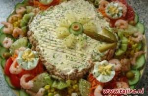 Saladetaart