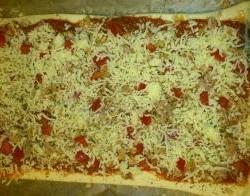 Snel gemaakte Pizza