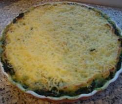 Spinazie-aardappelschotel